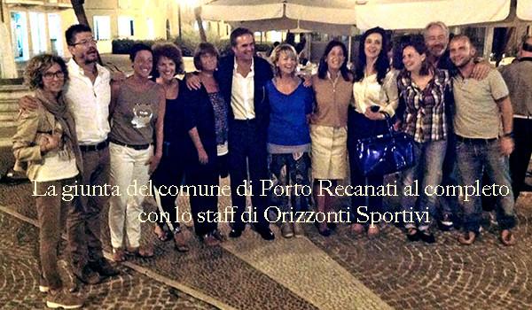 Girandoloni Porto Recanati Cena del cuore giunta