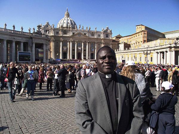 P. Emmanuel au Vatican