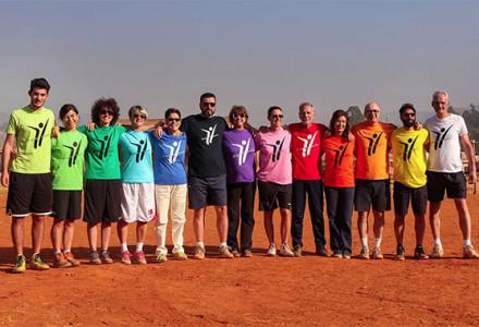 Gruppo arcobaleno Orizzonti Sportivi